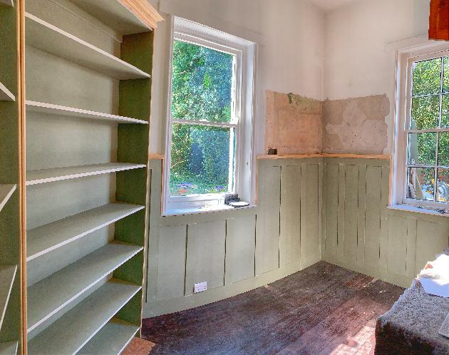 Built in Bookshelves and panelling - Joinery NG16