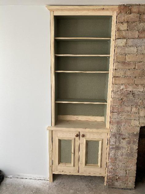Built in Cupboards and Bookshelves-Joinery NG16